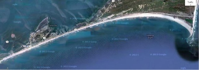 , Hatteras-Frisco EPIC Downwinder, Playa Del Carmen Kiteboarding and Water Sports Center, IKO kitesurfing lessons and shop with premium gear