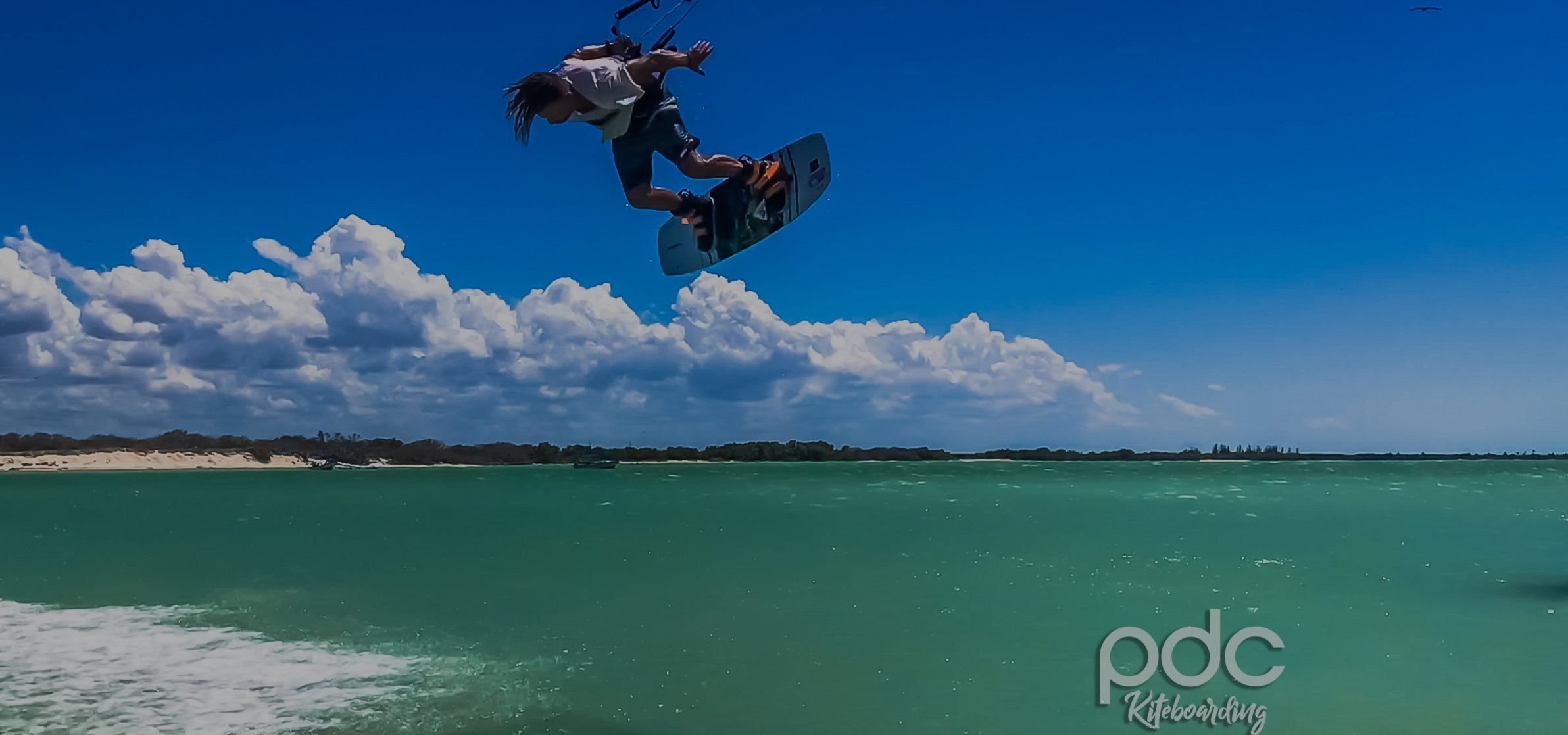 Mexico kiteboarding, windsurfing, kitesurfing, beach kites, kitesurfing equipment, kite sailing, kiteboard Riviera Maya, Cancun, Playa del Carmen, Wake boarding lessons